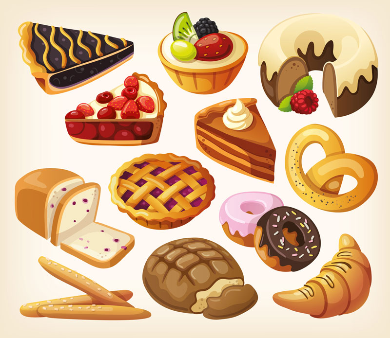 Tray of pastrie clipart picture download Free Danish Pastry Cliparts, Download Free Clip Art, Free ... picture download