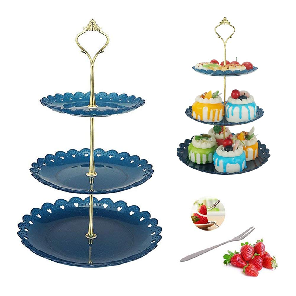 Tray of pastrie clipart clip art library stock Amazon.com   Dessert Pastry Stand Cake Appetizer Stand ... clip art library stock