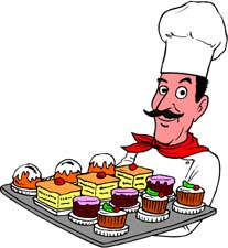 Tray of pastrie clipart jpg freeuse download Collection of Pastry clipart   Free download best Pastry ... jpg freeuse download