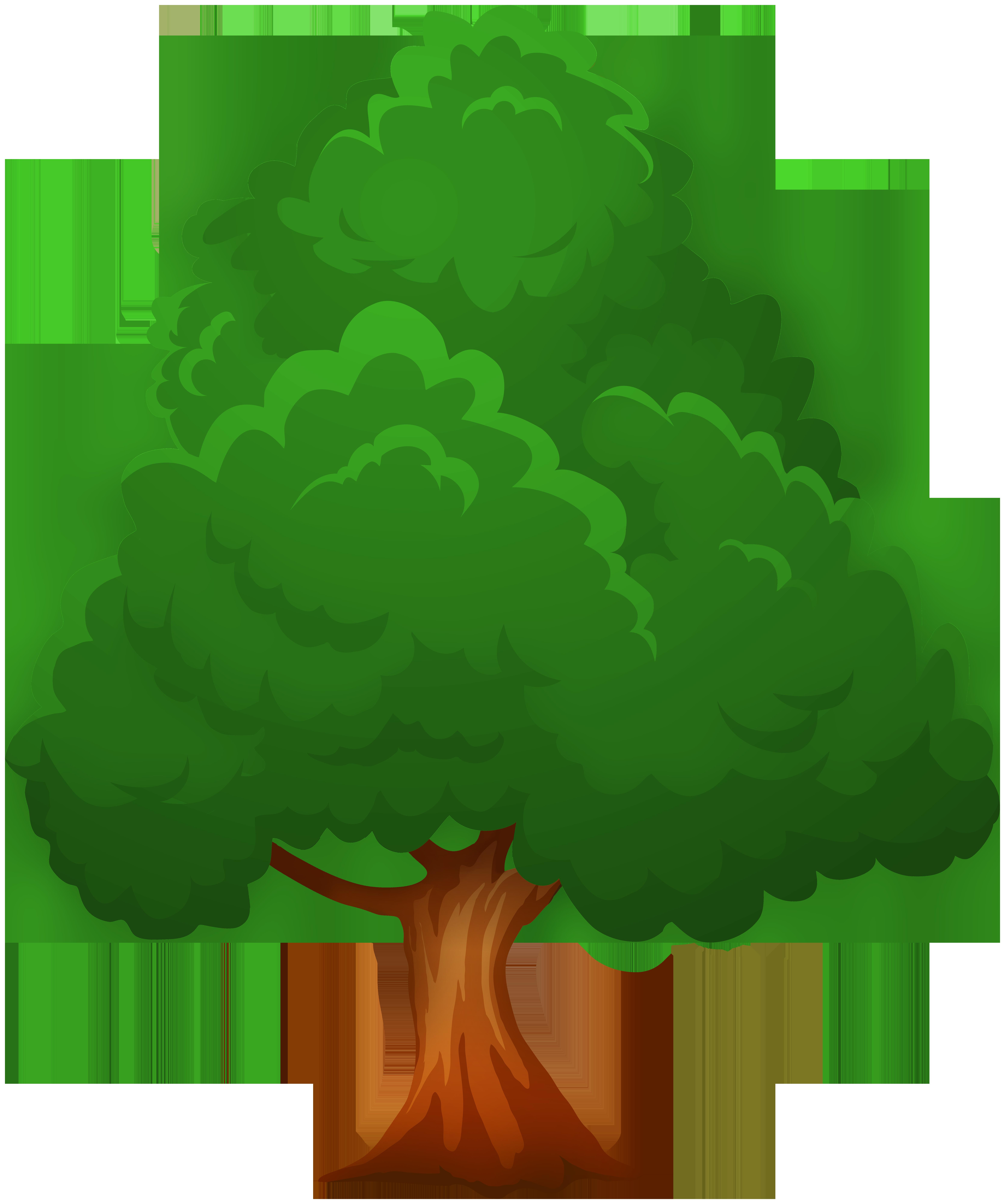Tre clipart banner freeuse download Big Green Tree PNG Clip Art - Best WEB Clipart banner freeuse download