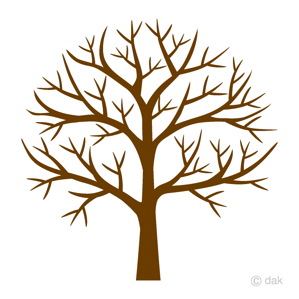 Tre clipart free stock Leafless Tree Clipart Free Picture|Illustoon free stock