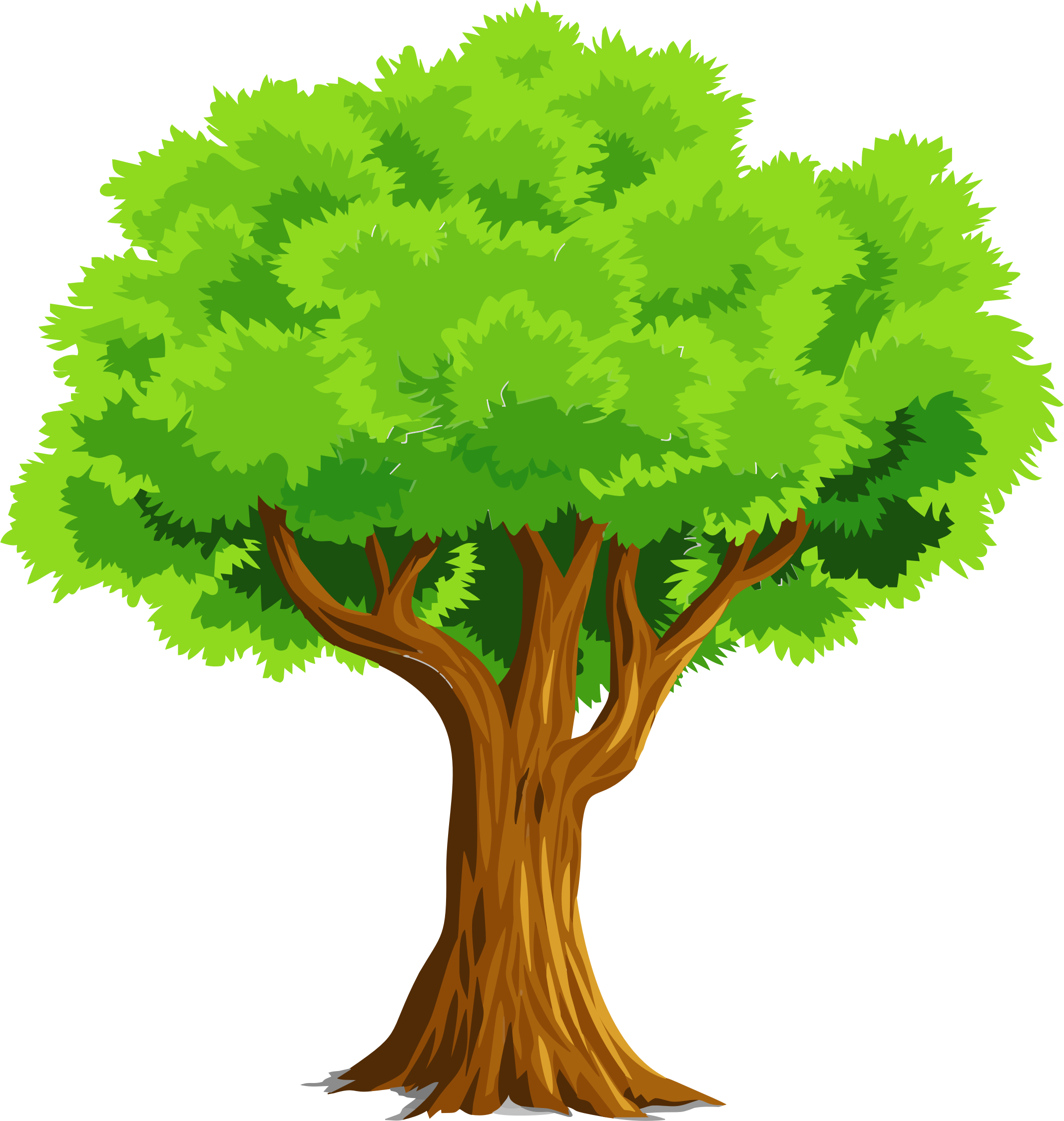 Www clipart tree image freeuse library Colorful Natural Tree by GDJ | cc0 | Tree clipart, Vector ... image freeuse library