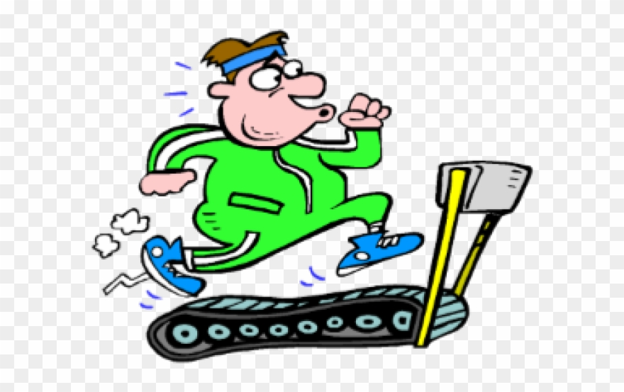 Treadmill Clipart Different Exercise - Png Download ... image transparent library