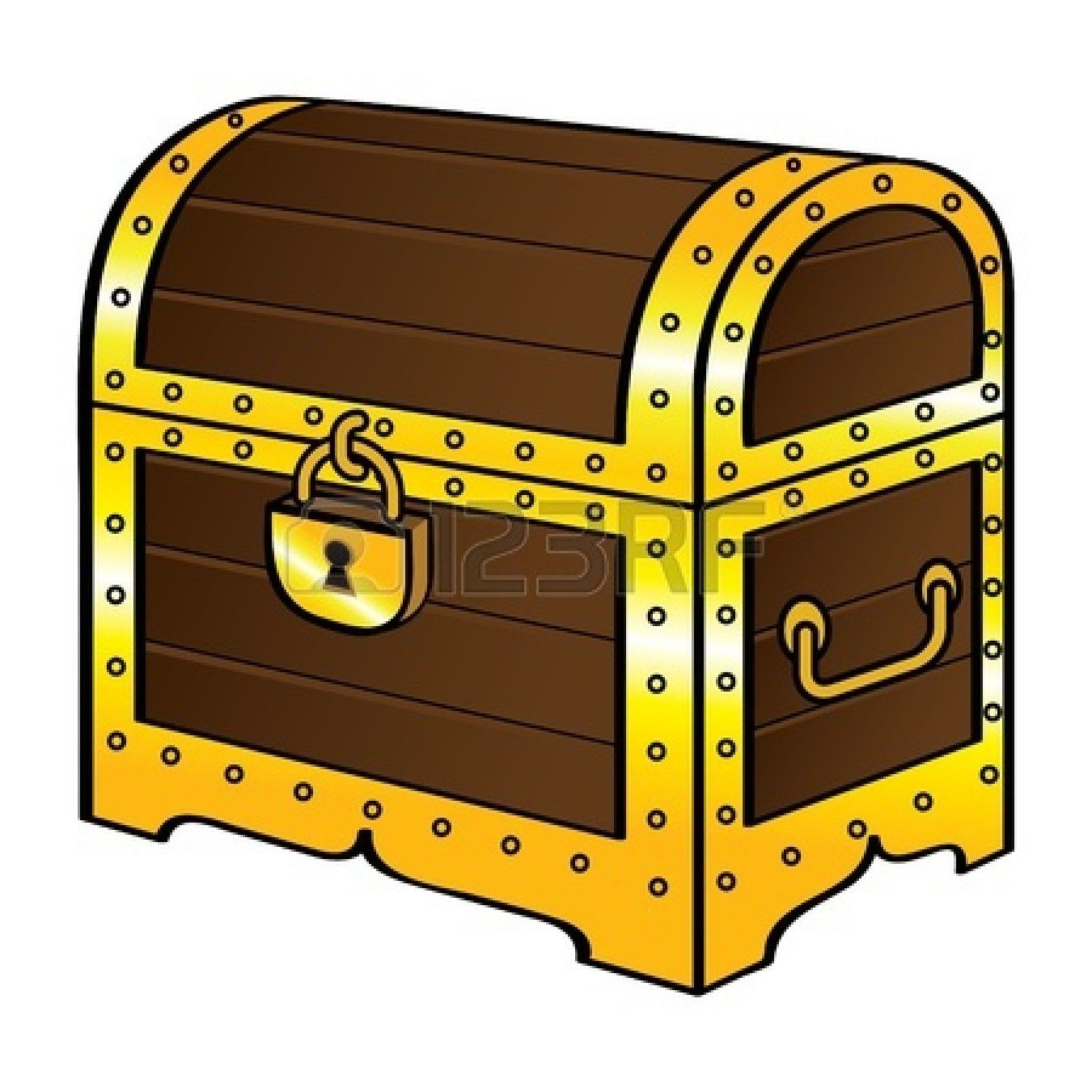 Treasure Chest Stock Vector Illustration And Royalty Free ... image black and white download