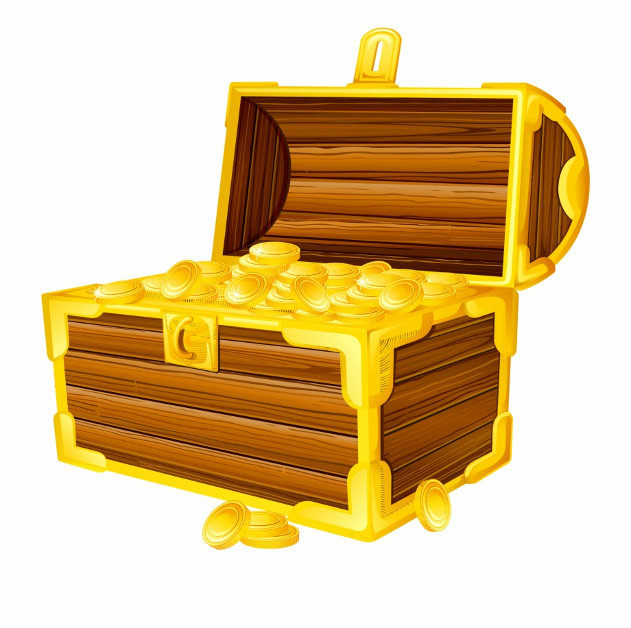 Treasure - Treasure Chest Clipart Png Free PNG Images ... vector free