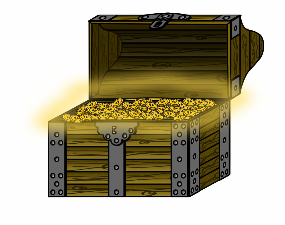 Clipart - Treasure Chest No Background, Transparent Png ... vector download