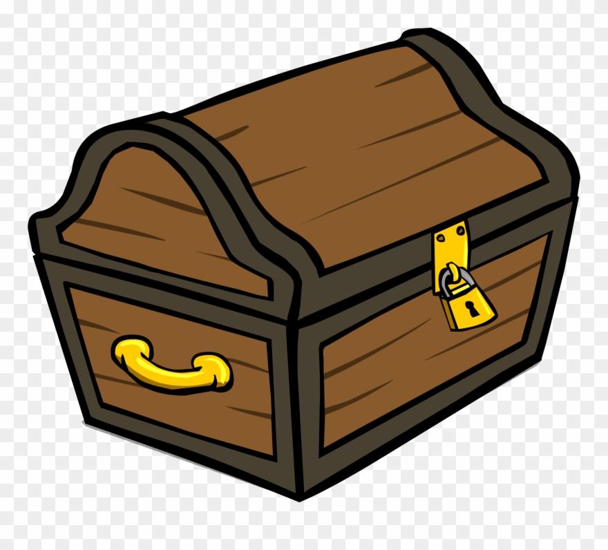 Treasure Chest Id 305 Sprite Club - Cartoon Treasure Chest ... clipart library