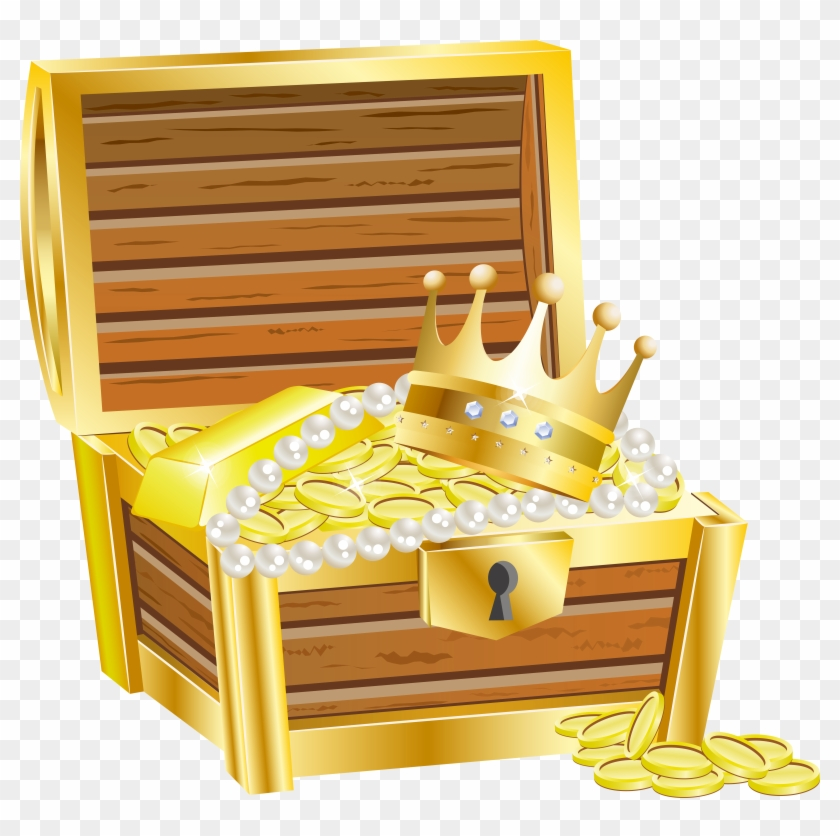 Treasure chest clipart no background graphic freeuse library Free Png Download Treasure Chest With Gold Transparent ... graphic freeuse library