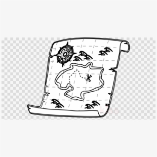 Treasure map lines clipart image library Free Treasure Map Clipart Black And White Cliparts ... image library