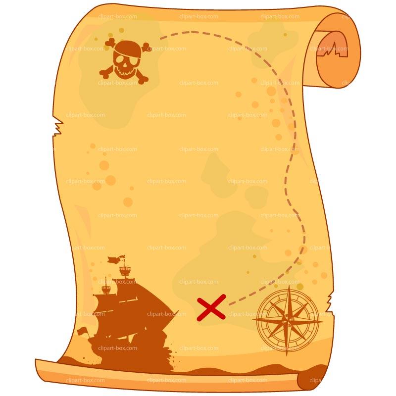 Treasure map scroll clipart svg stock Treasure Map Clipart Printable 2194 - Clipart1001 - Free ... svg stock