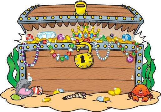 Free Treasure Chest Clipart Pictures - Clipartix | Bulletin ... image royalty free download