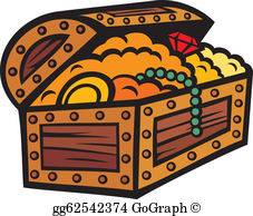 Treasure Chest Clip Art - Royalty Free - GoGraph clip art free download