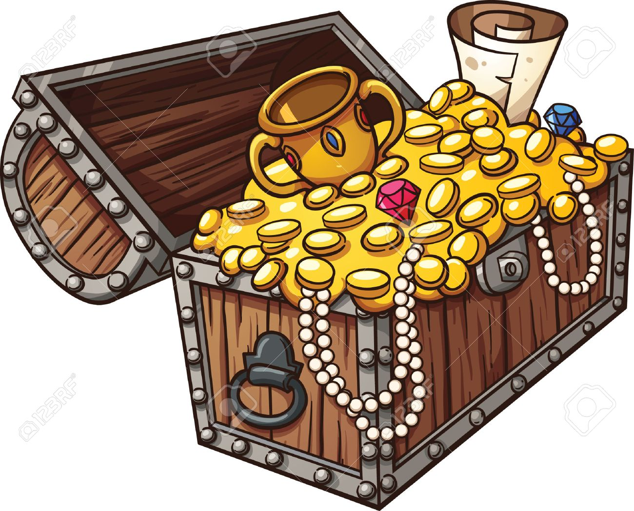 Treasure clipart 7 » Clipart Station jpg library library