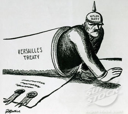 How did Germany react to Treaty of Versailles? - Quora image royalty free library