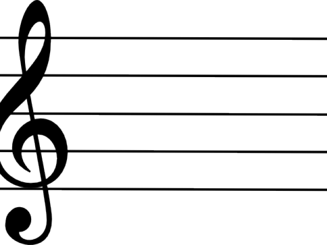 Treble cleff staff clipart jpg black and white library HD Clef Note Clipart Blank - Treble Clef Png Transparent PNG ... jpg black and white library