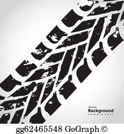 Tred clipart image freeuse library Tire Tread Clip Art - Royalty Free - GoGraph image freeuse library