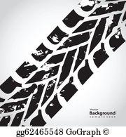 Tire Tread Clip Art - Royalty Free - GoGraph graphic transparent