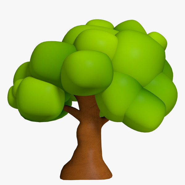 Tree 3d clipart clip freeuse download Free Cartton Tree, Download Free Clip Art, Free Clip Art on ... clip freeuse download