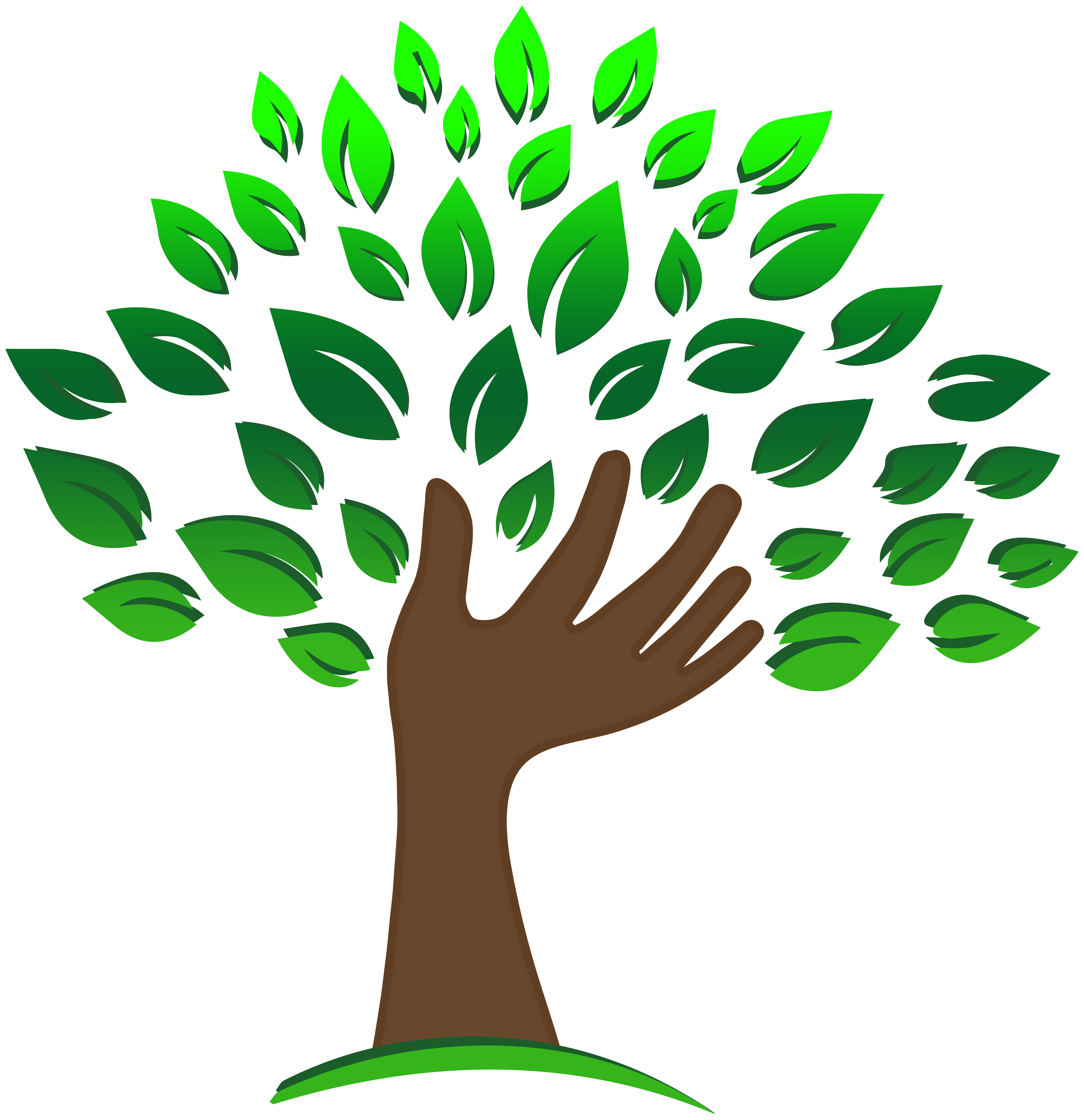 Tree and hands clipart jpg library Hand Tree PNG Clipart - Best WEB Clipart jpg library