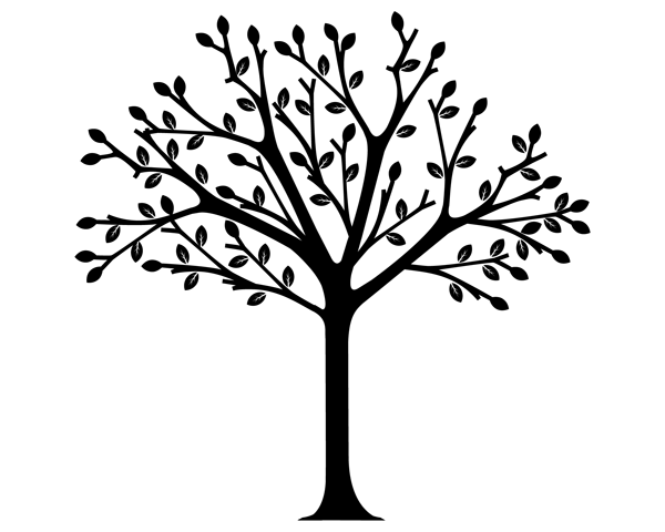 Tree black clipart clip freeuse stock Tree black and white tree clip art black and white wisdom ... clip freeuse stock
