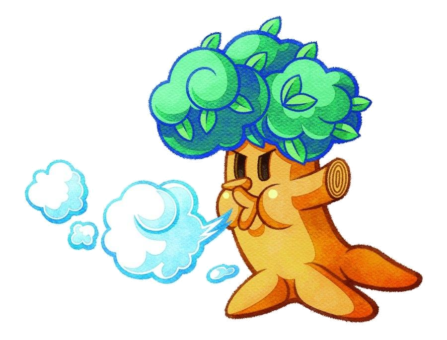 Tree blowing clipart clip freeuse stock Little Woods | Kirby Wiki | FANDOM powered by Wikia clip freeuse stock