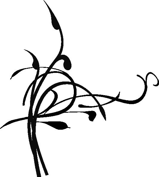Black Birds On A Branch Clip Art at Clker.com - vector clip art ... transparent download