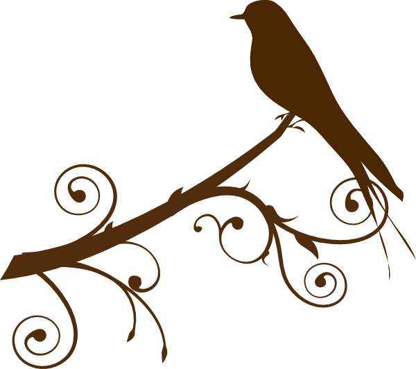 Tree branch with birds clipart image transparent stock Bird On Branch Silhouette at GetDrawings.com | Free for personal use ... image transparent stock