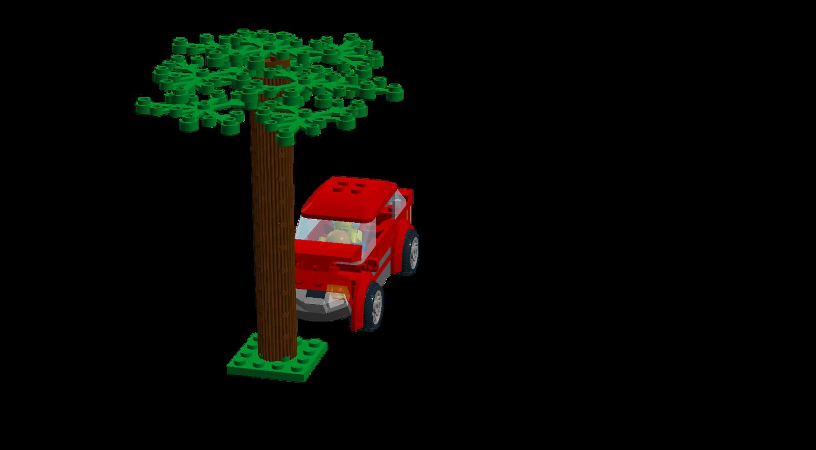 Tree car crash clipart banner black and white stock LEGO Ideas - Product Ideas - Car Crash! banner black and white stock