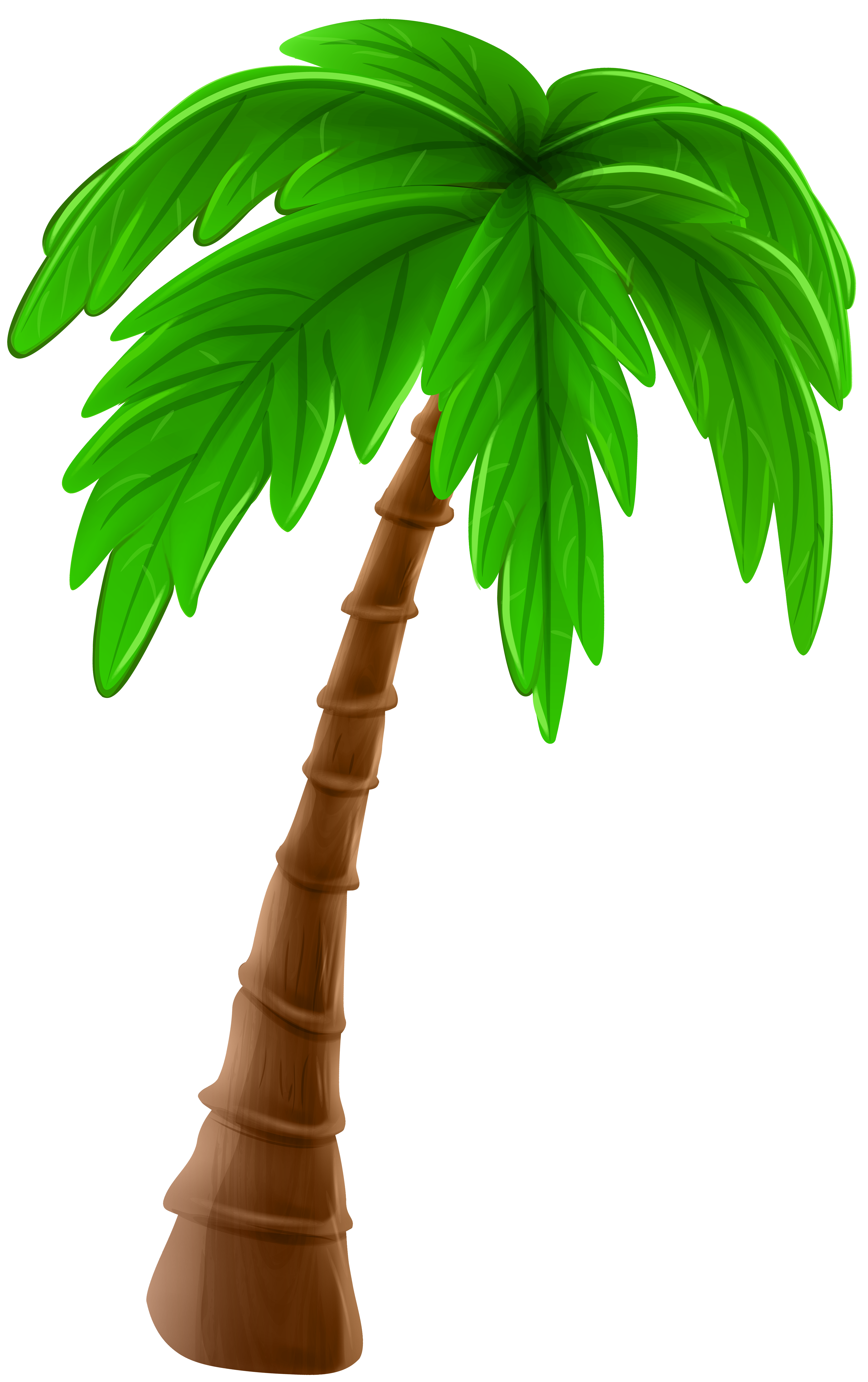 Tree cartoon clipart image library download Palm Tree Cartoon PNG Clip Art Image | Gallery Yopriceville - High ... image library download