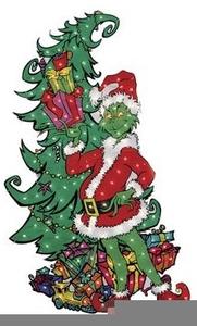 Tree christmas clipart dr suess svg Dr Seuss The Grinch That Stole Christmas Clipart | Free ... svg
