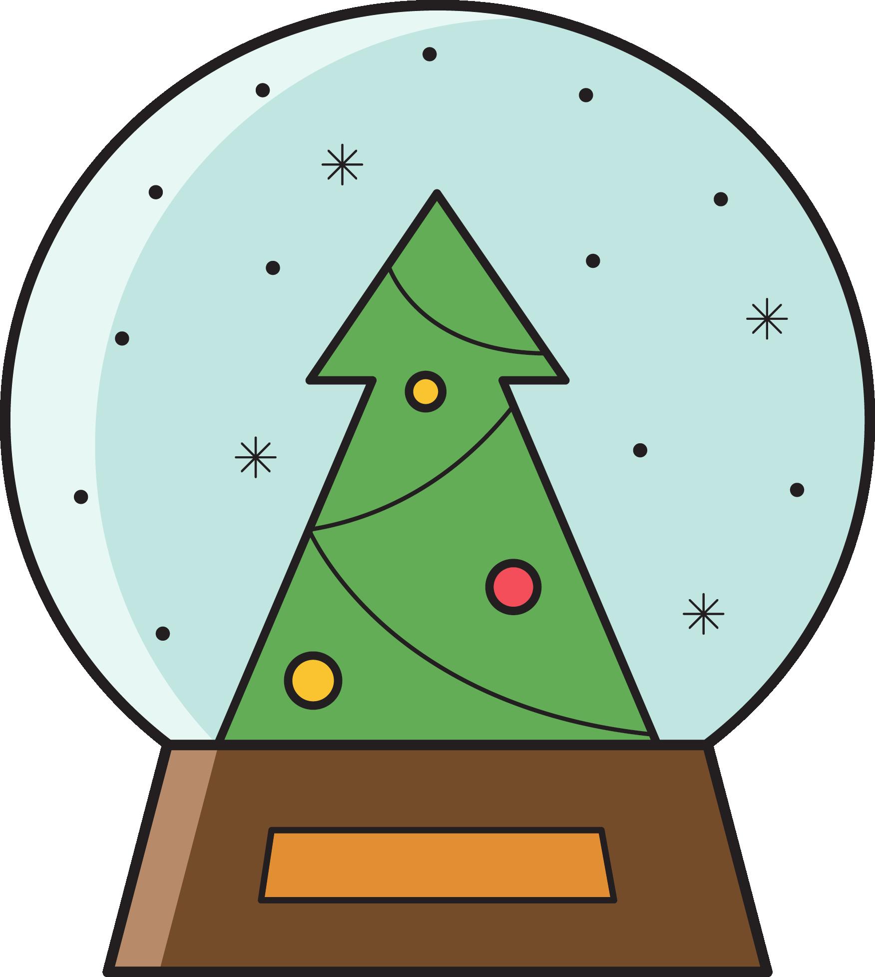 Tree circle clipart clip transparent download Snow Globe Clipart | Free download best Snow Globe Clipart on ... clip transparent download