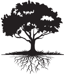 Family reunion tree black and white clipart banner transparent Free Tree Roots Cliparts, Download Free Clip Art, Free Clip ... banner transparent