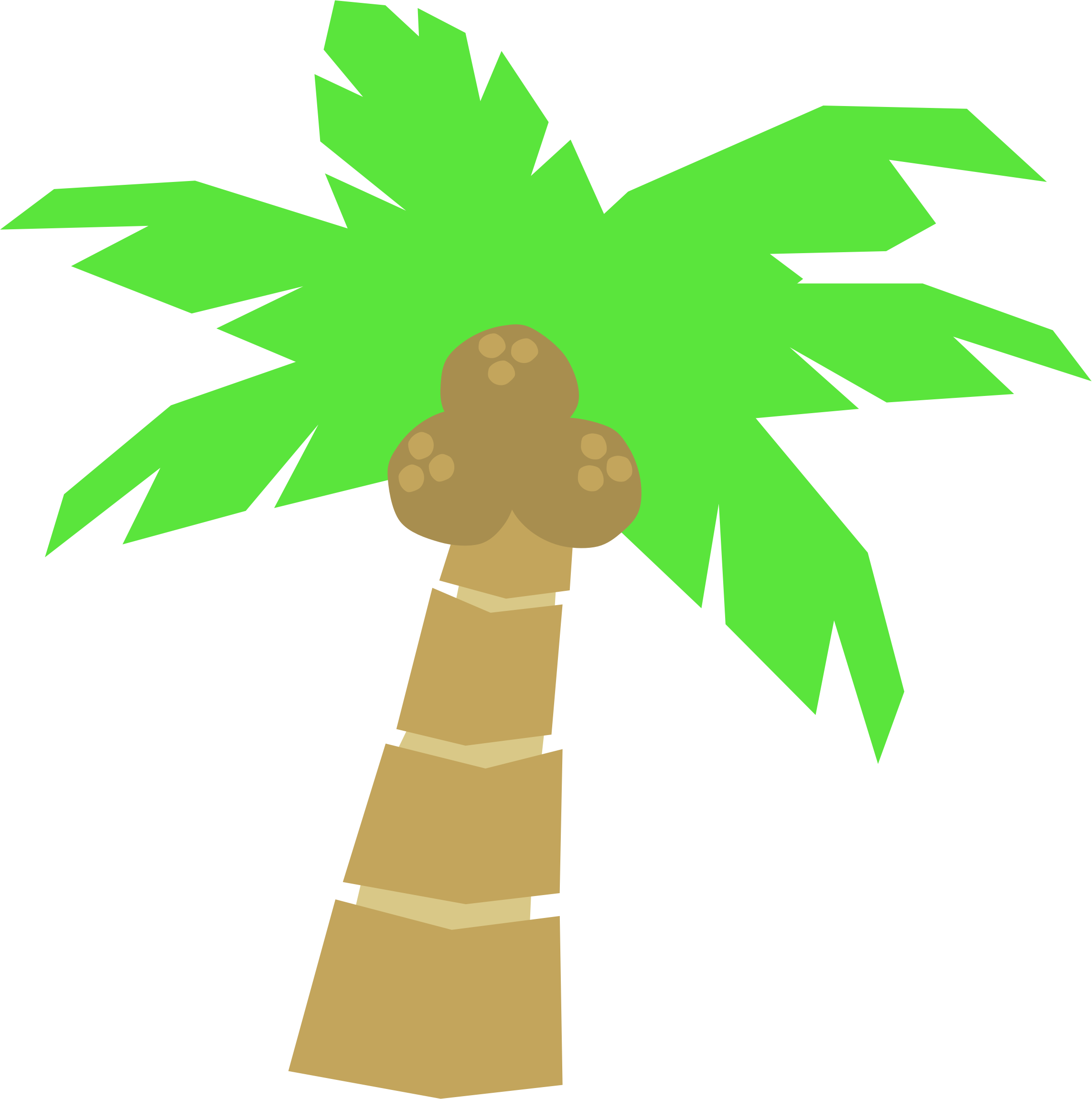 Tree clipart border clipart freeuse download Images of Palm Trees Clip Art Border - #SpaceHero clipart freeuse download