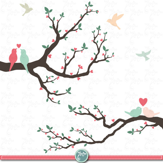 Trees wedding invites designs clipart svg Wedding clip art \