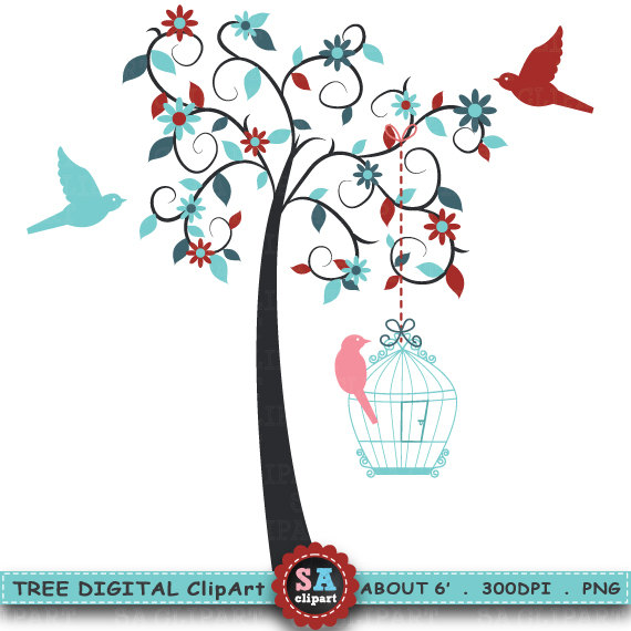 Tree clipart for wedding invitations picture freeuse download Tree Clipart \