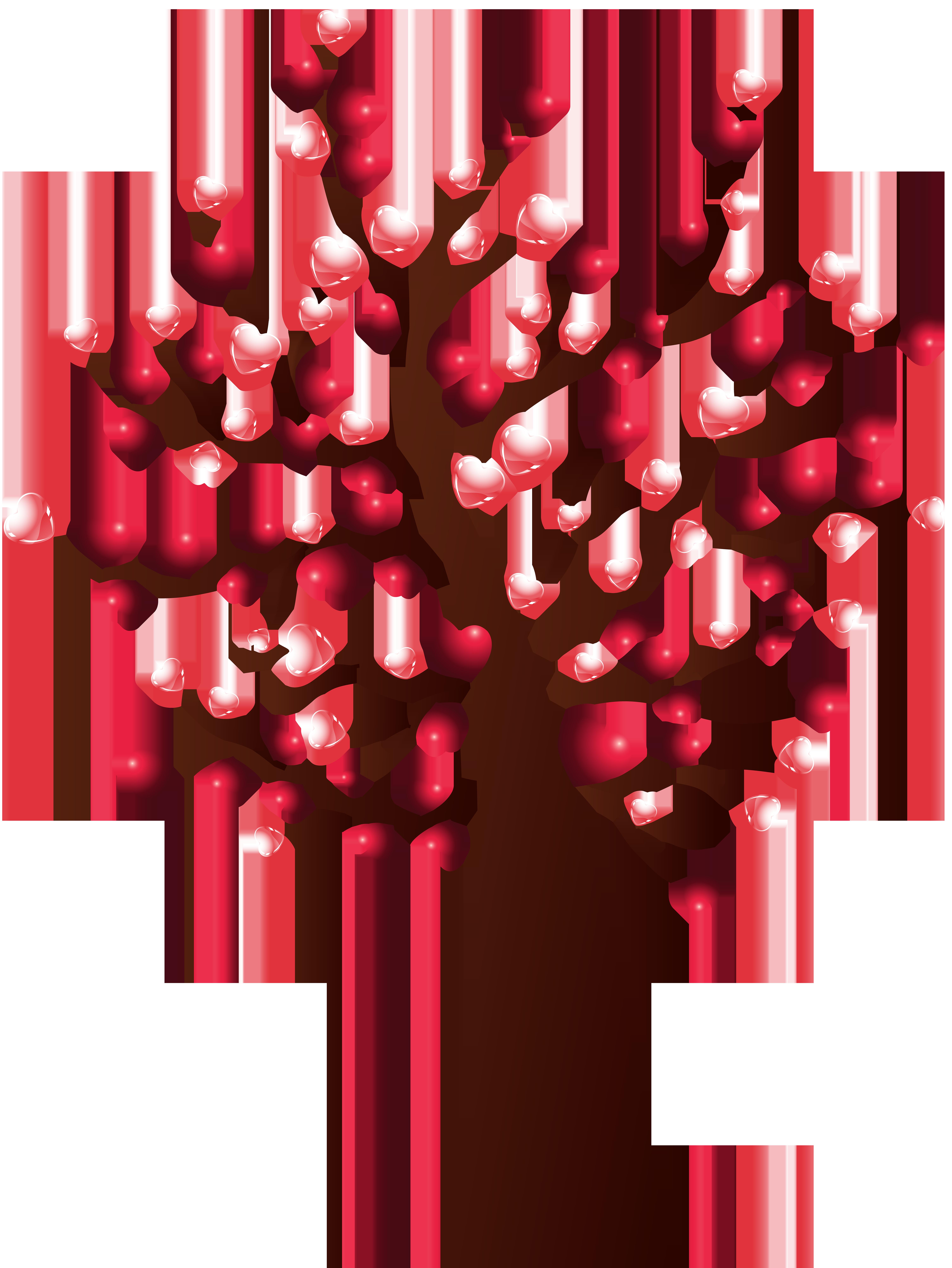 Heart Tree Transparent Clip Art Image | Gallery Yopriceville - High ... clip art transparent download
