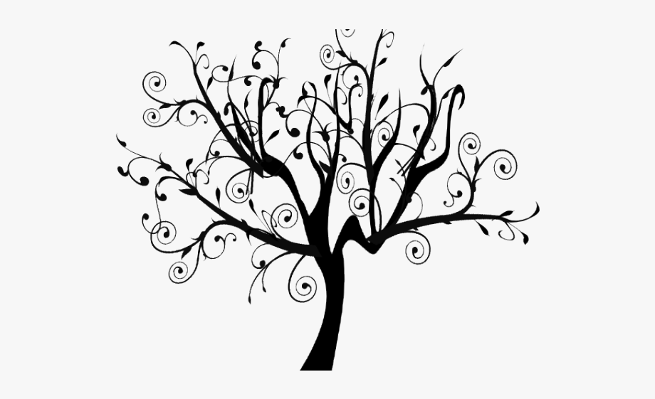 Vine Clipart Family Tree - White Tree Clipart Transparent ... image