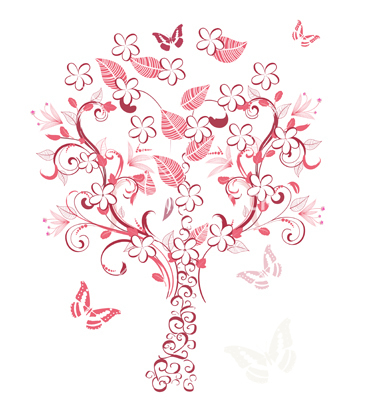 Tree clipart with hearts png freeuse library Free heart tree clipart - ClipartNinja png freeuse library