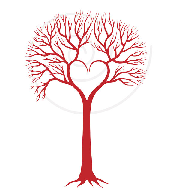 Tree clipart with hearts picture freeuse stock 17 Best images about Fonts on Pinterest   Clip art, Calligraphy ... picture freeuse stock