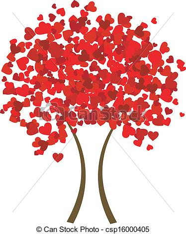 Tree clipart with hearts png library library Clipart heart tree free - ClipartNinja png library library