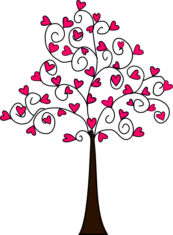 Heart carved in tree clipart graphic transparent library Heart Tree Drawing at GetDrawings.com | Free for personal use Heart ... graphic transparent library