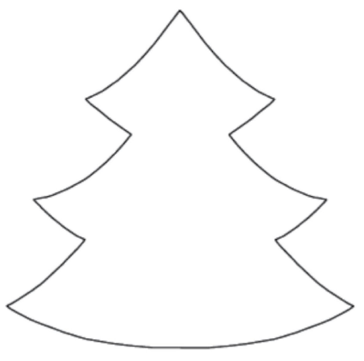 Christmas Tree Cut Out Template | ... on fabric and cut out ... royalty free download