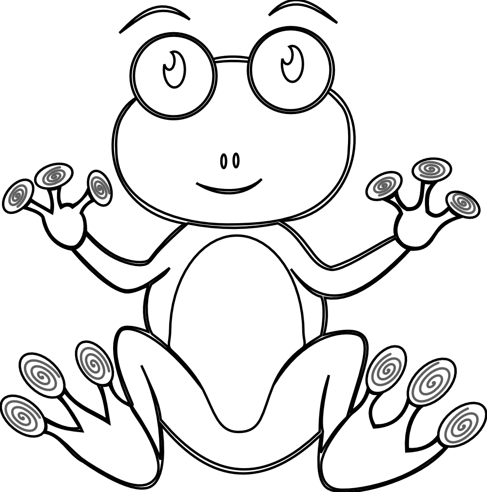 Tree frog clipart black and white vector transparent download clipartist.net » Search Results » Frog vector transparent download