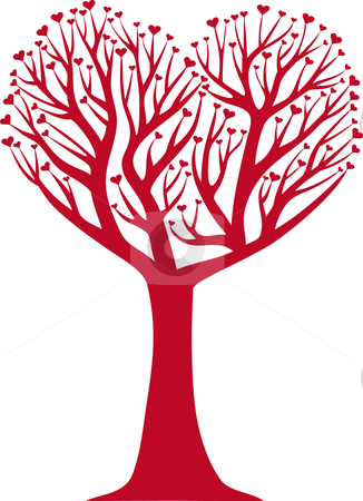 Tree hearts clipart picture stock Free heart tree clipart - ClipartFest picture stock