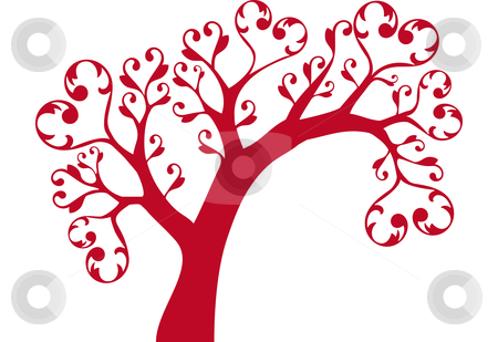 Tree hearts clipart clipart royalty free library Tree of hearts clipart - ClipartFox clipart royalty free library