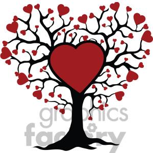 Tree hearts clipart clip art transparent Love Life Clipart - Clipart Kid clip art transparent