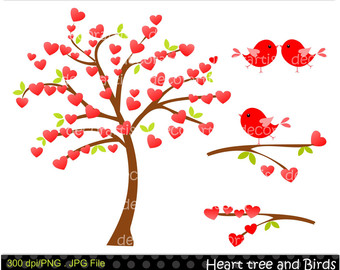Tree hearts clipart clipart download Tree hearts clipart - ClipartFest clipart download