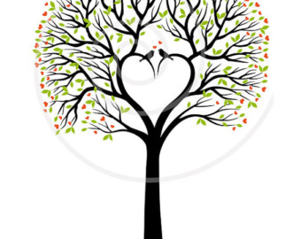 Tree hearts clipart graphic transparent download Heart Family Tree Clip Art   Clipart Panda - Free Clipart Images graphic transparent download