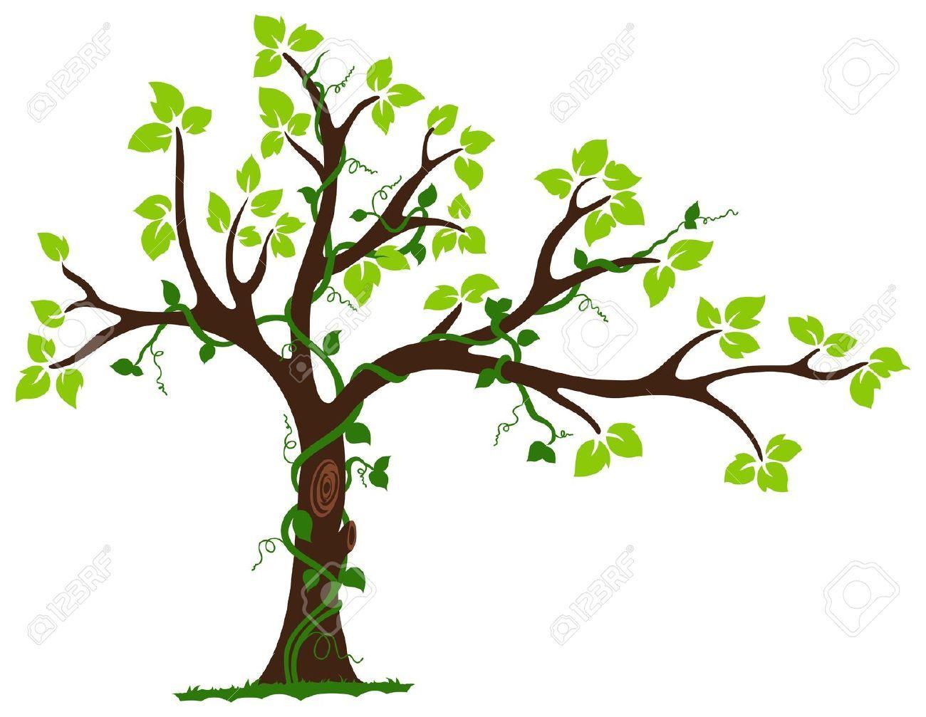 Tree vines clipart jpg freeuse library illustrator tree - Google Search | Art 224 Color My Mood ... jpg freeuse library