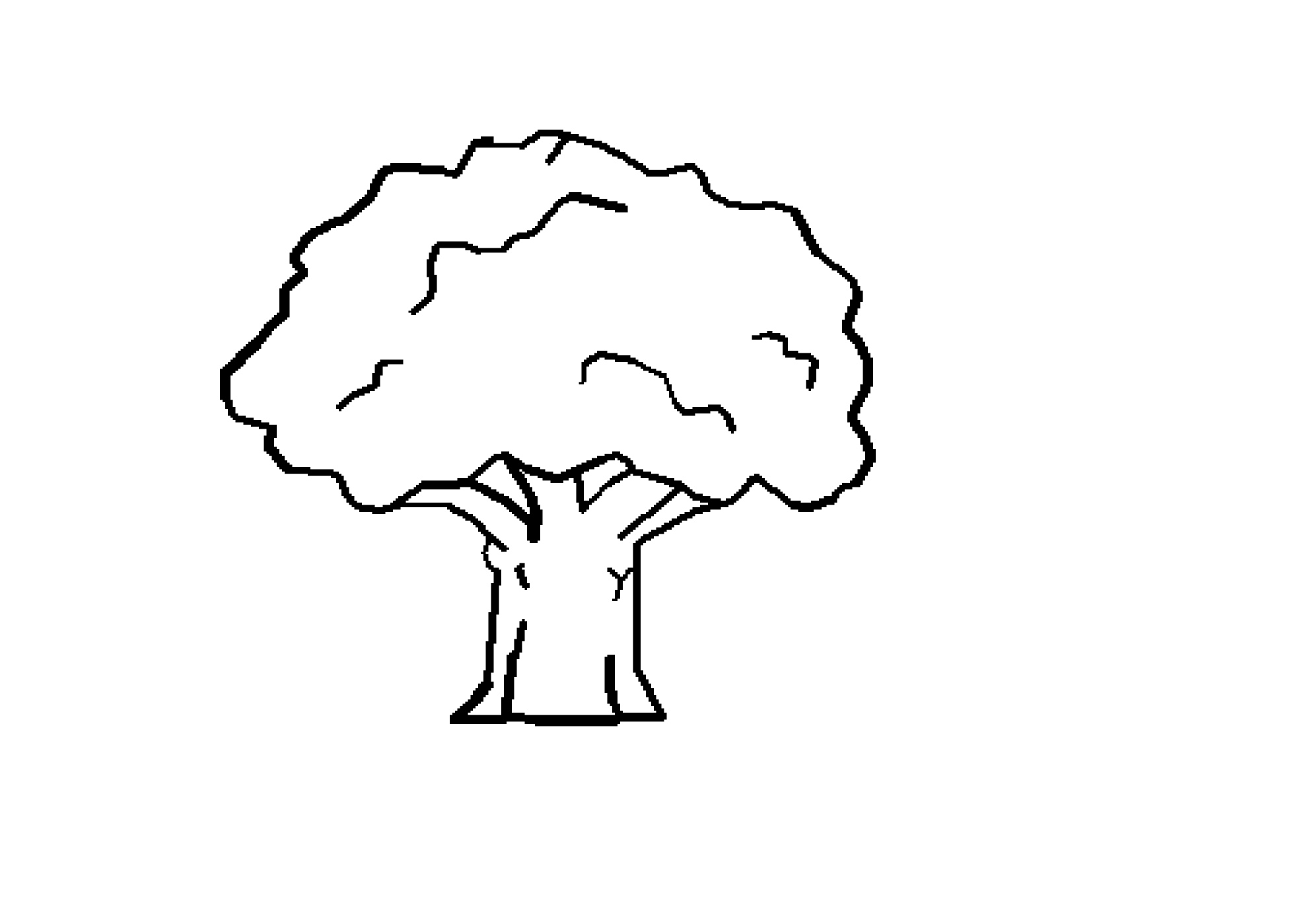 Tree line images clipart png library stock Tree black and white tree clipart black and white 2 ... png library stock
